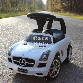 Толокар Mercedes SLS (музыка, гудок, бардачок)
